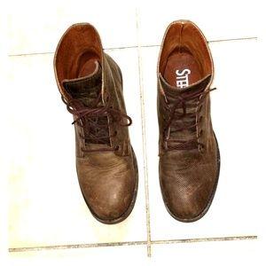 Stefano DiRoma leather boots Men